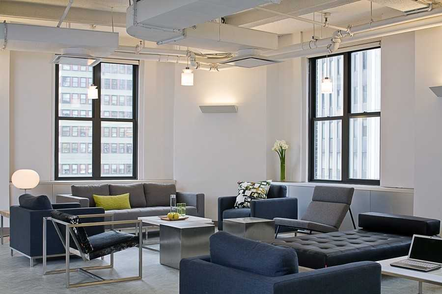 New york city office interior design space planning for Interior design office new york