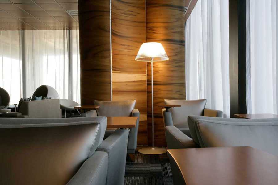 New York Airport Lounge Interior Design Hospitaility