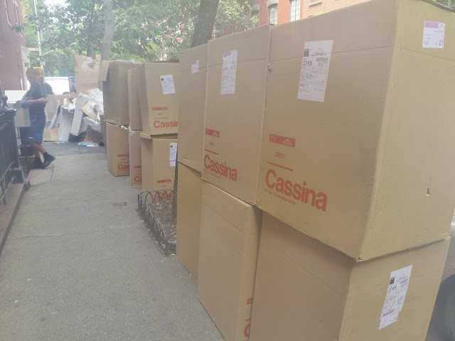 Cassina boxes