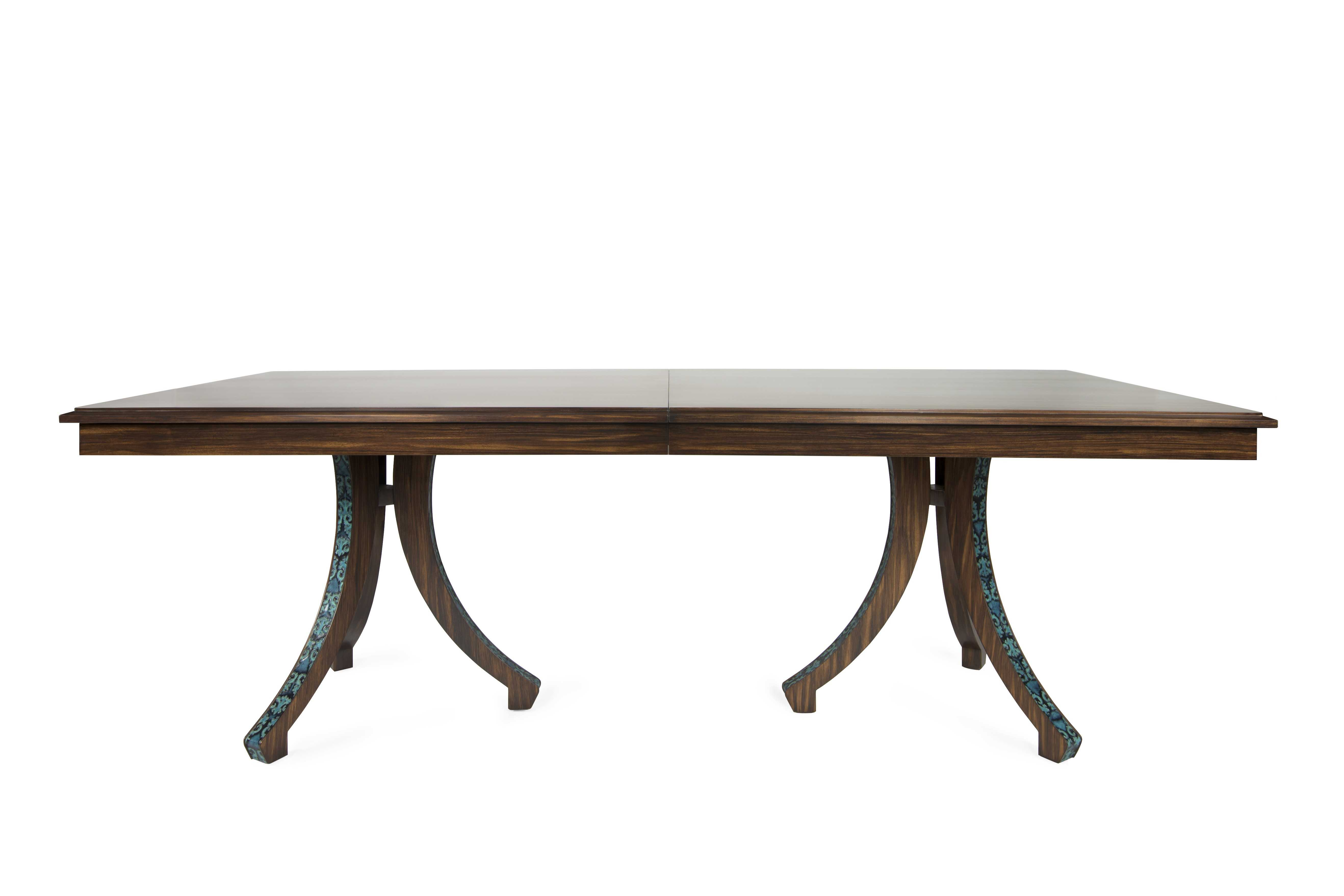 New york interior designer kati curtis releases furniture for Latest dining table designs 2015