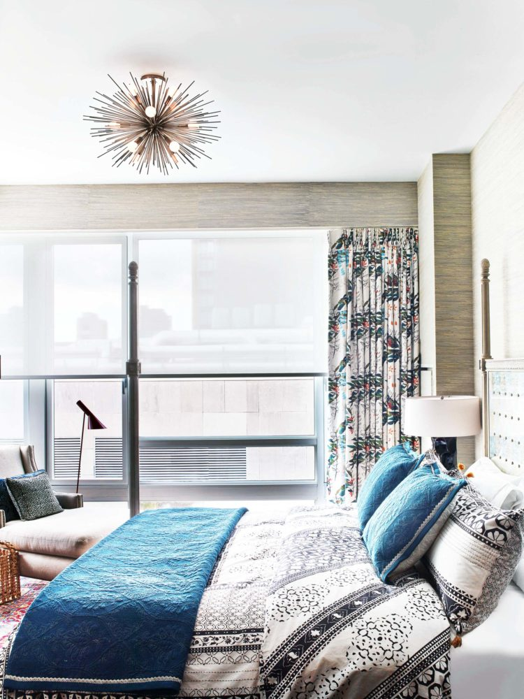 colorful chelsea bedroom