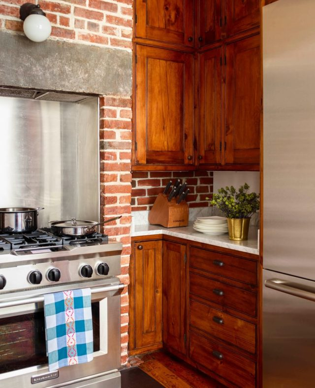 One thing I love about older NYC homes is all the original character. We may have smaller kitchens, but this one especially is so full of charm!