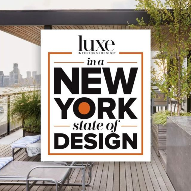 Running around to client meetings in the rain,  but today we're in a #NYStateOfDesign. luxemagazine #LuxeNYStateOfDesign #LuxeGreaterNewYork